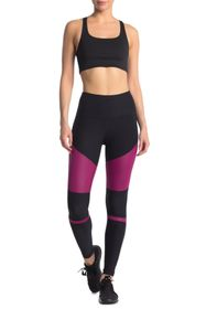 90 Degree By Reflex Colorblock High Waist Leggings