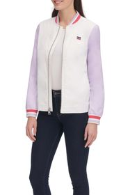 Levi's Colorblock Stripe Trim Bomber Jacket