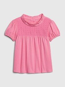 Toddler Eyelet Shirt