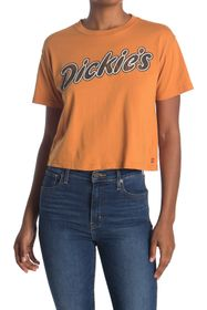 Dickies Crop Logo Tee