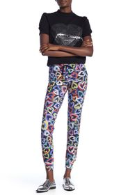 LOVE Moschino Cuori Heart Print Pants