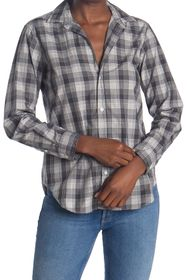 FRANK & EILEEN Frank Plaid Tailored Fit Tunic Shir