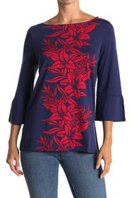 Tommy Bahama Flower of Pisa 3/4 Sleeve Tunic