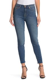 7 For All Mankind Gwenevere High Waist Ankle Crop