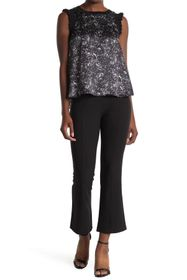 Cinq a Sept Mina Cropped Flared Pants