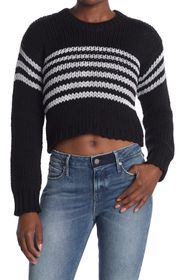 RtA Denim Rory Crop Sweater