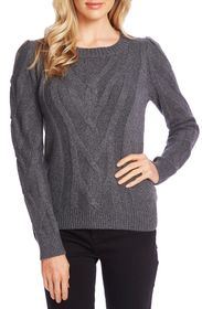 CeCe by Cynthia Steffe Entwine Cable Knit Sweater