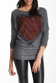 Go Couture Boatneck Dolman Sweater