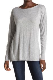 NYDJ Boatneck Button Back Sweater