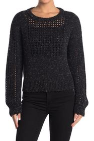 Billy Reid Boxy Net Sweater