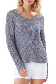 Tommy Bahama Gea Mesa V-Neck Sweater