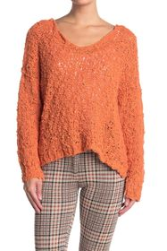 Free People Sunday Shore Cotton Blend Sweater