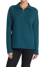 JAG Jeans Theresa 1/4 Zip Quilted Pullover