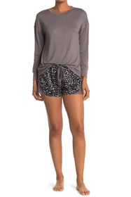 Catherine Malandrino Tossed Heart Dot Short & Shir