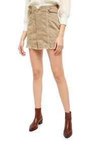 Free People Alpha Utility Mini Skirt