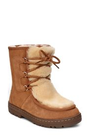 UGG Mukluk Genuine Shearling Trimmed Revival Boot