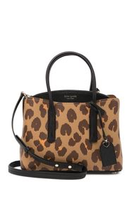 kate spade new york medium leopard printed leather