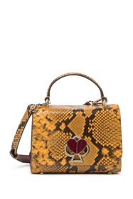 kate spade new york nicola small snake embossed le