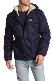 Levi's Faux Fur Lined Water Resistant Hooded Jacke