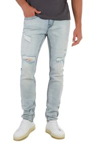 True Religion Rocco Big T Ripped Skinny Jeans