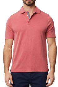 Rainforest Textured Solid Polo