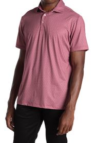 TailorByrd Printed Golf Polo