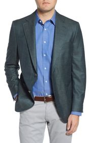 Peter Millar Classic Fit Solid Wool Blend Sport Co