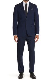 Ben Sherman Navy Nailhead Slim Fit 2-Piece Suit