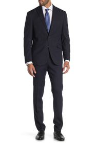 Kenneth Cole Reaction Pinstripe Navy Two Button No