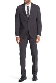 Kenneth Cole Reaction Solid Grey 2-Piece Trim Fit