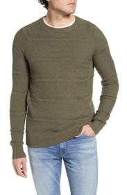 Rails Axel Crewneck Seed Stitch Sweater