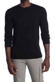Theory Riland Long Sleeve Crew Shirt