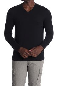 Theory Riland Long Sleeve V-Neck Shirt