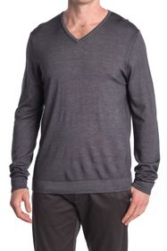 Raffi Long Sleeve Jersey V-Neck T-Shirt