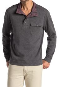 Tommy Bahama Alpine View Quarter Zip & Button Pull
