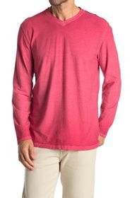 Tommy Bahama Cirrus Coast V-Neck Long Sleeve T-Shi