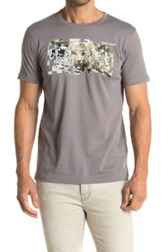 Roberto Cavalli Jungle Graphic Crew Neck T-Shirt