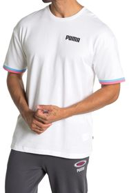PUMA Celebration Short Sleeve Sweatshirt