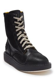 Diesel Cage D Leather Lace-Up Boot