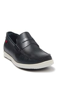 Marc Joseph New York Southport Perforated Leather