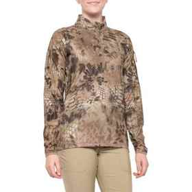 Kryptek Valhalla Shirt - Zip Neck, Long Sleeve (Fo