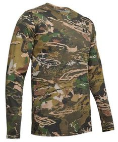 Under Armour Scent Control Camo Live Long-Sleeve S