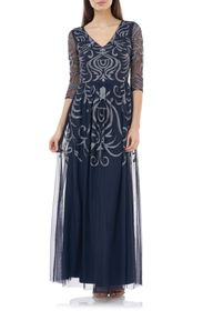 JS Collections Embellished Gown