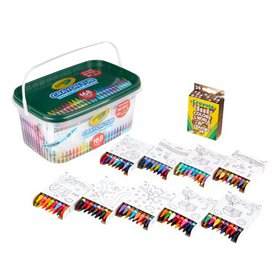 Crayola 168 count Crayon and Storage Tub Boys and