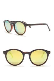 Cole Haan Round 50mm Sunglasses