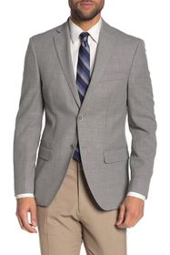Tommy Hilfiger Grey Weave Two Button Notch Lapel S