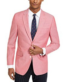 Men's Modern-Fit Chambray Sport Coats