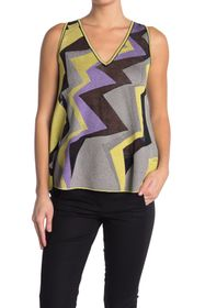 M Missoni Abstract Print Tank Top