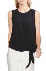 Vince Camuto Sleeveless Tie Front Blouse