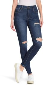 Levi's 720 Distressed High Rise Super Skinny Jeans